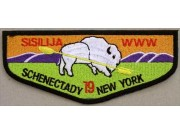 OA Lodge 19 SISILIJA SCHENECTADY NEW YORK PATCH