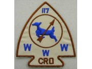 BSA OA Lodge 117 CRO PATCH