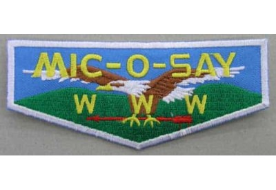 BSA OA FLAP MIC-O-SAY PATCH