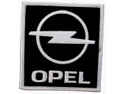 OPEL AUTO RACING IRON ON EMBROIDERED PATCH #04