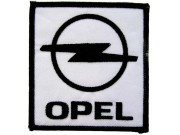 OPEL AUTO RACING IRON ON EMBROIDERED PATCH #05