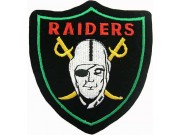 Oakland Raiders NFL Embroidered Patch #08b