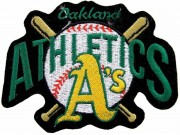 MLB OAKLAND ATHLETICS BASEBALL EMBROIDERED PATCH #02