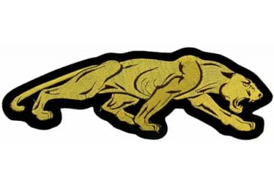 GIANT PANTHER / JAGUAR EMBROIDEREDPATCH (L1)