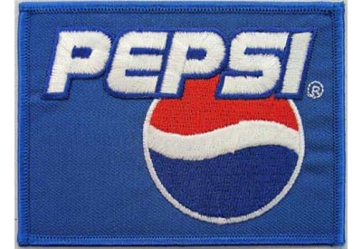 PEPSI Soda Iron On Embroidered Patch #05