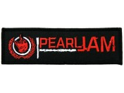 PEARL JAM ROCK MUSIC EMBROIDERED PATCH
