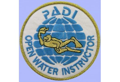 PADI SCUBA - OPEN WATER INSTRUCTOR PATCH 4""