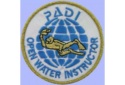 PADI SCUBA - OPEN WATER INSTRUCTOR PATCH 3""