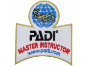 PADI SCUBA - MASTER INSTRUCTOR SHOULDER PATCH
