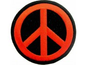 PEACE PUNK & ROCK EMBROIDERED PATCH