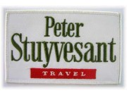 PETER STUYVESANT TRAVEL EMBROIDERED PATCH