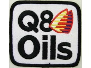 Q8 OIL SHELL / ADVANCE RACING EMBROIDERED PATCH #03