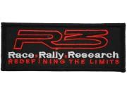 R3 RACE RALLY MOTOR RACING PATCH #01