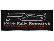 R3 RACE RALLY MOTOR RACING PATCH #02