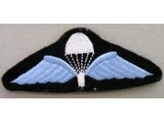 RMAF AIR FORCE PARACHUTE WINGS EMBROIDERED PATCH #01