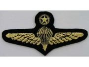 RMAF AIR FORCE PARACHUTE WINGS EMBROIDERED PATCH #12