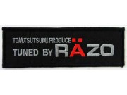 RAZO RACING SPORT IRON ON EMBROIDERED PATCH #01
