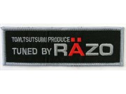 RAZO RACING SPORT IRON ON EMBROIDERED PATCH #02