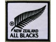 All Blacks New Zealand Rugby Embroidered Patch #01