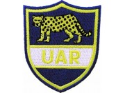 UAR UNION ARGENTINA RUGBY EMBROIDERED PATCH #01