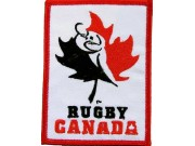 Canada Rugby Team Embroidered Patch #01