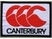 Canterbury Sport T-Shirt Embroidered Patch #01