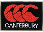 Canterbury Sport T-Shirt Embroidered Patch #02