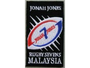 RUGBY SEVEN MALAYSIA EMBROIDERED PATCH #01