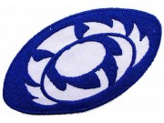 SCOTLAND / SCOTTISH RUGBY EMBROIDERED PATCH #03