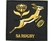 SOUTH AFRICA RUGBY EMBROIDERED PATCH #02