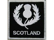 SCOTLAND / SCOTTISH RUGBY EMBROIDERED PATCH #01