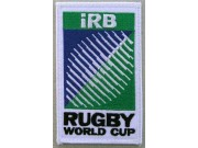 IRB RUGBY WORLD EMBROIDERED PATCH #01