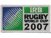 IRB RUGBY WORLD 2007 EMBROIDERED PATCH #03