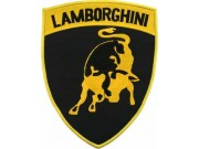 LAMBORGHINI AUTOMOBILE EMBROIDERED PATCH #01