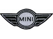 MINI COOPER AUTOMOBILE EMBROIDERED PATCH #01