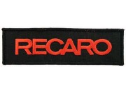 RECARO RACING IRON ON EMBROIDERED PATCH #02