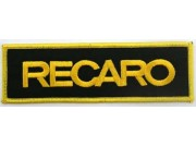 RECARO RACING IRON ON EMBROIDERED PATCH #07