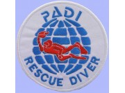 PADI SCUBA - RESCUE DIVER PATCH (A)