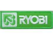 RYOBI FISHING SPORTS EMBROIDERED PATCH