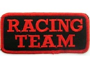 Racing Team Embroidere Tab Patch #03