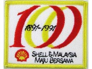 SHELL OIL & GAS RACING SPORT EMBROIDERED PATCH #16