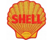 SHELL OIL & GAS RACING SPORT EMBROIDERED PATCH #17