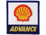 SHELL OIL & GAS RACING SPORT EMBROIDERED PATCH #21