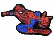 SPIDERMAN CARTOON COMIC IRON ON EMBROIDERED PATCH #02