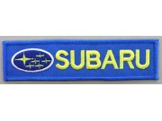 SUBARU RACING SPORT IRON ON EMBROIDERED PATCH #01