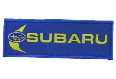 SUBARU RACING SPORT IRON ON EMBROIDERED PATCH #02