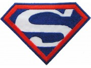 SUPERMAN CARTOON COMIC IRON ON EMBROIDERED PATCH #03