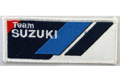 SUZUKI MOTORCYCLE BIKER EMBROIDERED PATCH #07