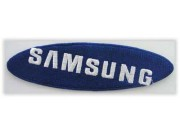 SAMSUNG LOGO IRON ON EMBROIDERED PATCH #01