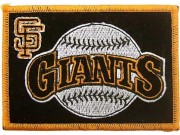 MLB SAN FRANCISCO GIANTS BASEBALL EMBROIDERED PATCH #02